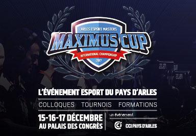 Affiche Maximus Cup du Pays d'Arles en décembre.