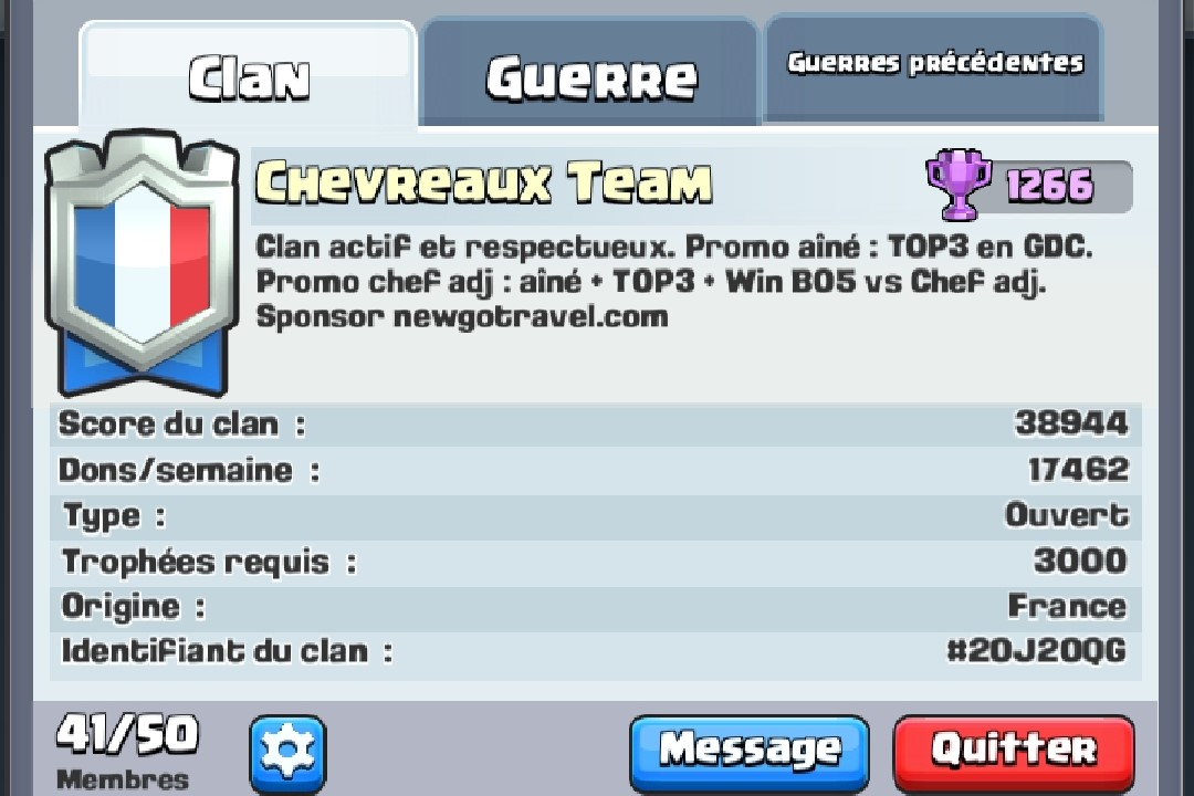 Team Esport NewGo Clash Royale