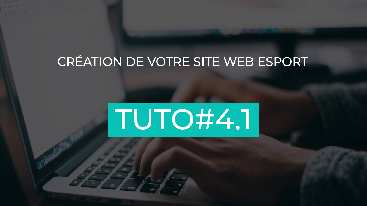 creer son site web esport