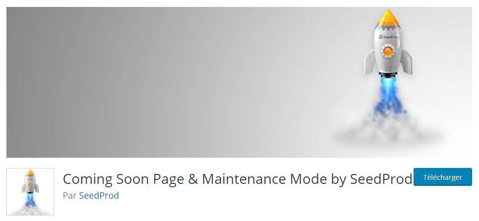 coming soon page plugin wordpress site web