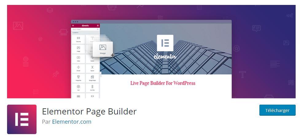elementor plugin wordpress site web