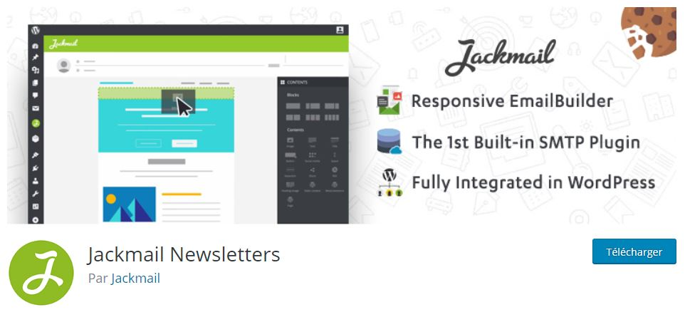 jackmail plugin site wordpress