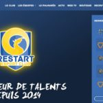 menu ancre - restart esport club