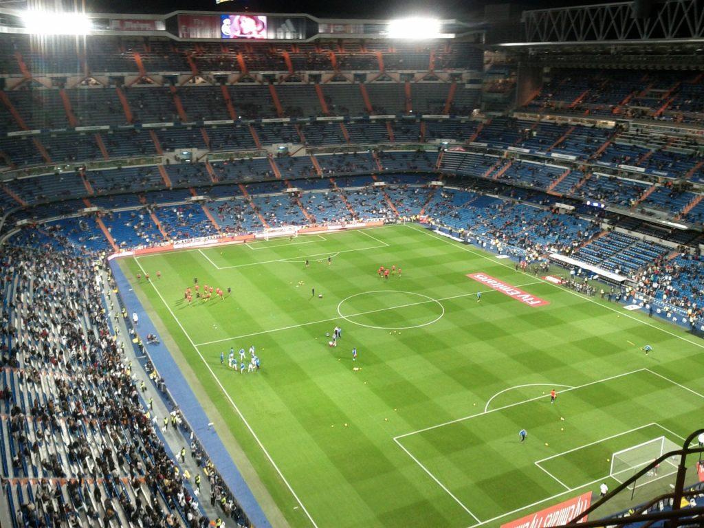 sejour football madrid