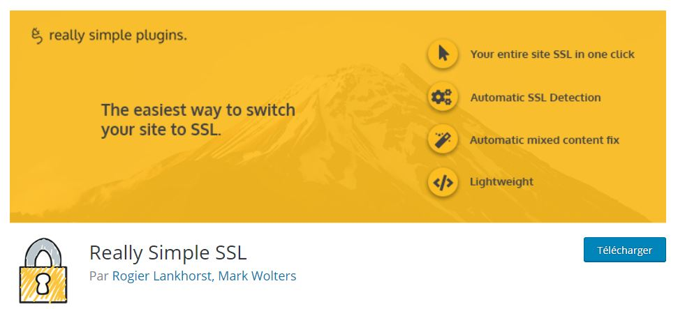 really simple ssl plugin site wordpress