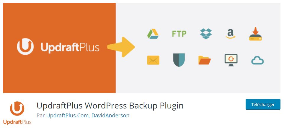 updraftplus plugin wordpress site web